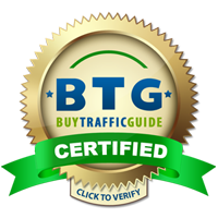 Certified by the Buy Traffic Guide