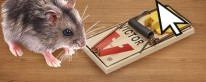 mouse with mouse trap
